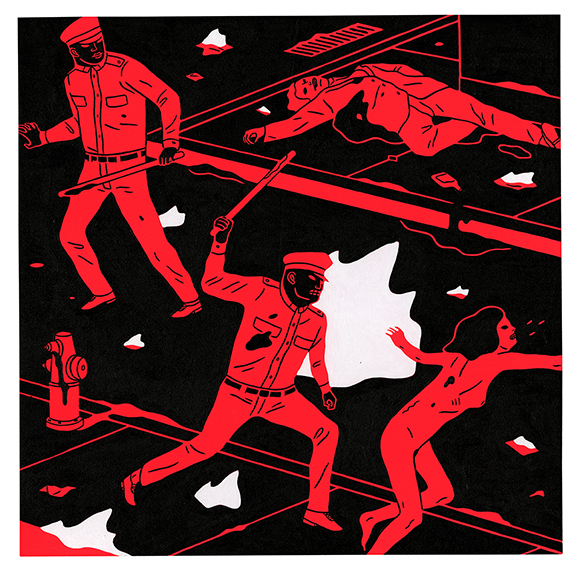 cleon peterson at the End of the World