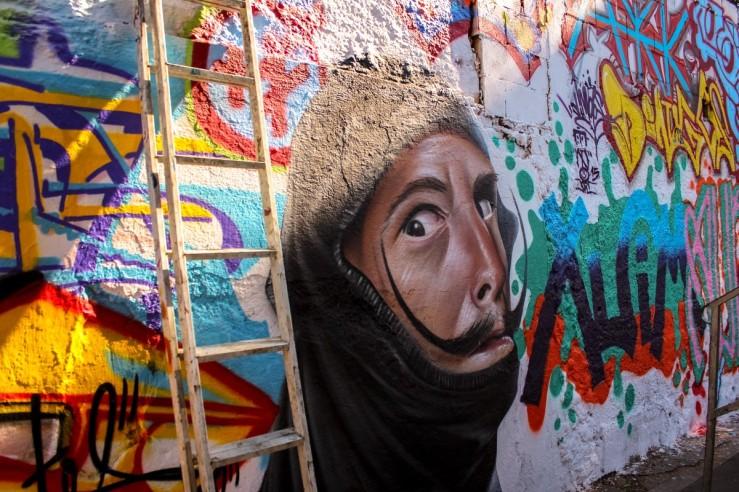 Pixadores revitalizam muro de Escola Estadual em Osasco 02